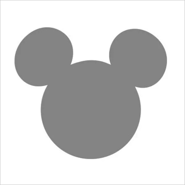 9 Mickey Mouse Templates Free PSD Vector JPEG Format