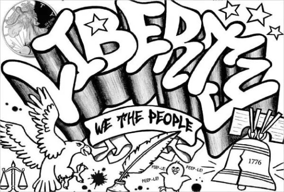 10  Cool Coloring Pages   Free   Premium Templates Cool Graffiti Coloring Page