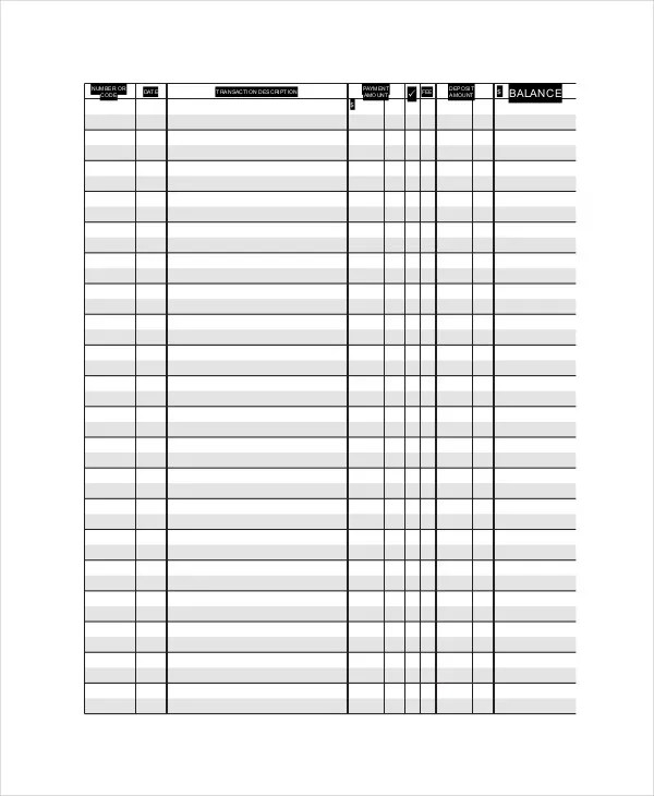 ledger paper templates free download