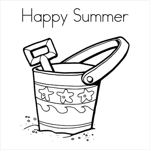 summer coloring pages printable # 21