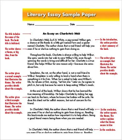 Ap Literature Essay Examples