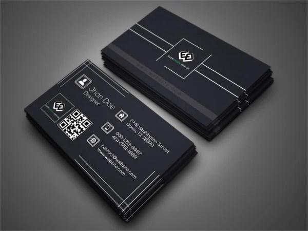 108 Inspiring Minimalist Business Card Templates AI Ms Word PSD Free Amp Premium Templates