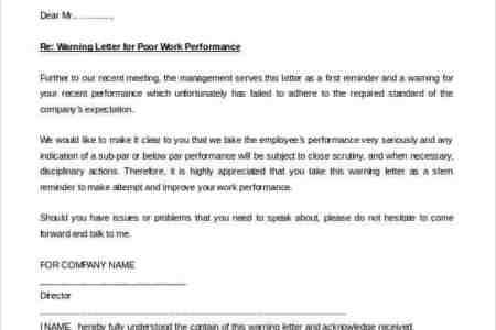 Employee warning letter template free professional resume employee warning letter template employee warning letter business form template employee warning letter template us lawdepot employee warning letter sample spiritdancerdesigns Images