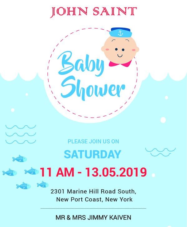 13 Baby Shower Invitation Templates