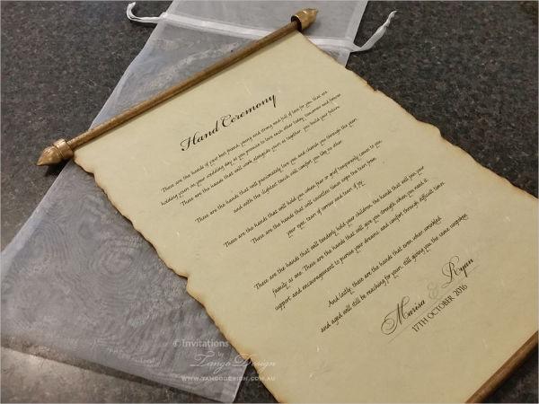 Traditional Wedding Invitation Templates