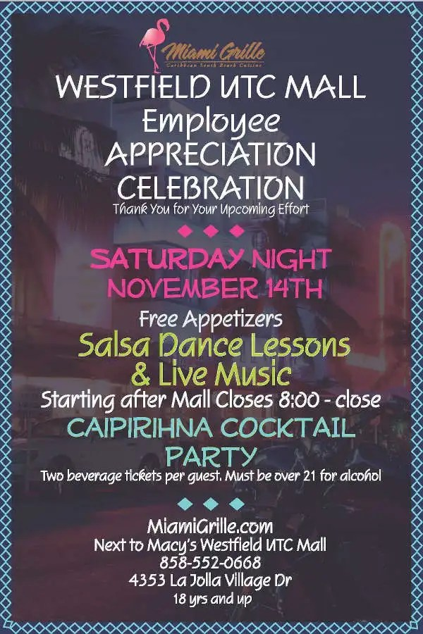 employee appreciation invitation templates