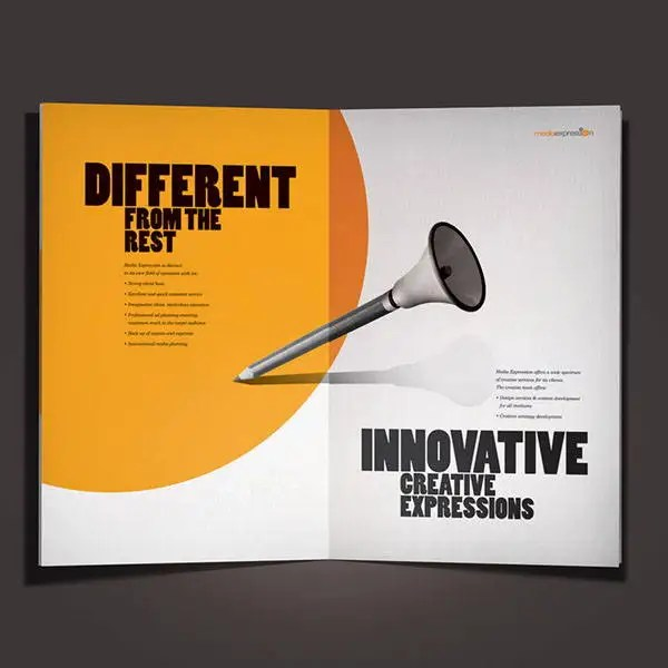 9 Advertising Company Brochures Designs Templates Free Premium Templates