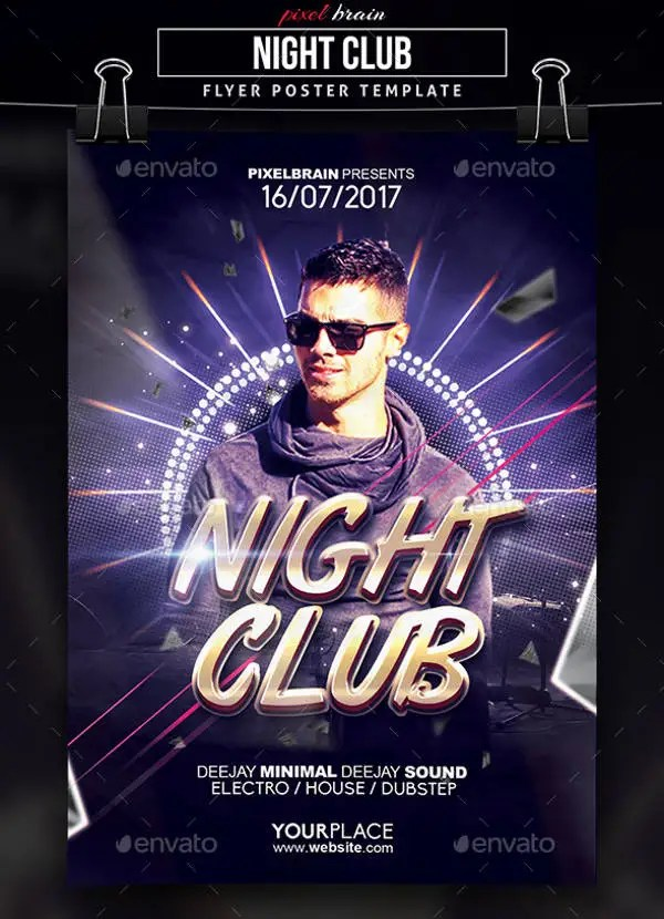 9 Club Party Flyers Free PSD EPS Vector AI Format Download Free Amp Premium Templates