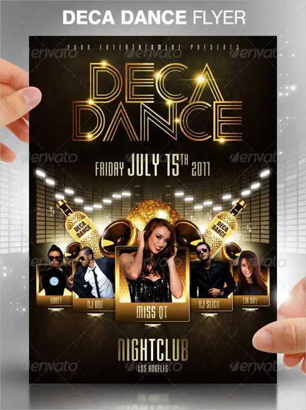 25 Dance Party Flyer Templates AI Docs Pages PSD Word Formats Free Amp Premium Templates