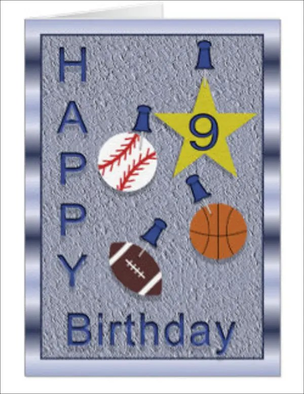 10 Sports Greeting Card Designs Amp Templates Psd Ai