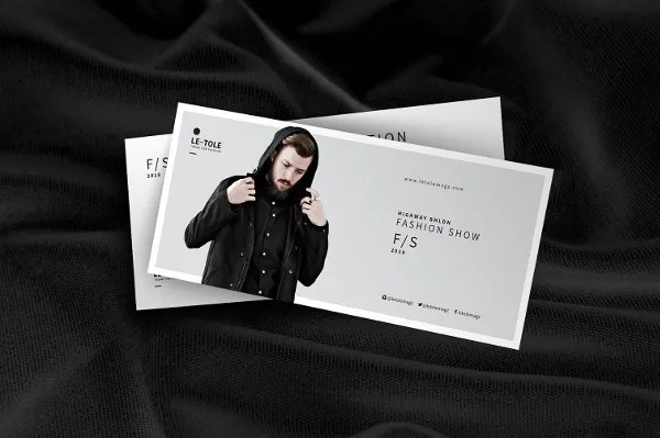 7 Fashion Event Postcard Designs Amp Templates Psd