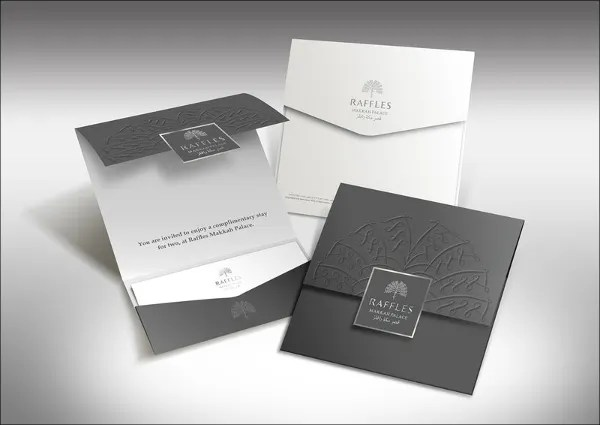 Creative Corporate Invitation Card