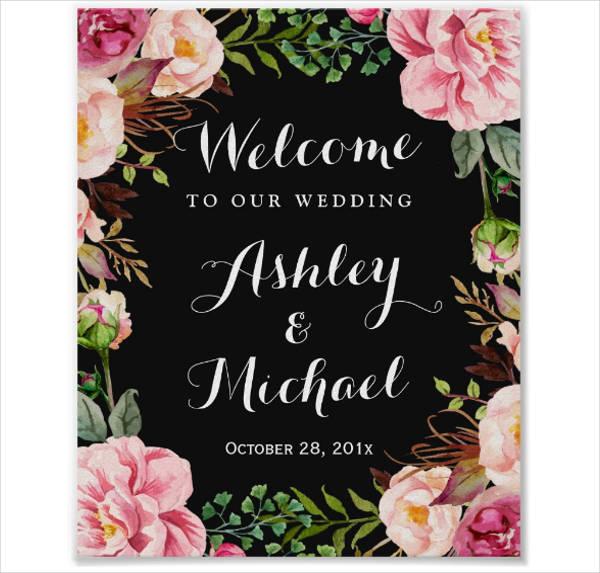 wedding poster template yerat