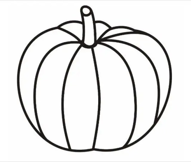 Pumpkin Coloring Pages Jpg Ai Illustrator Download Free