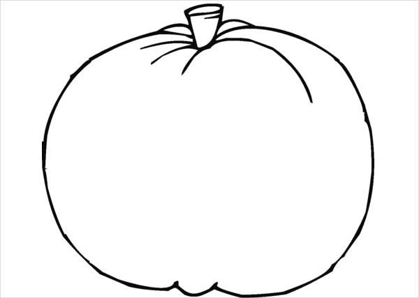 9 Pumpkin Coloring Pages Jpg Ai Illustrator Download Free Premium Templates