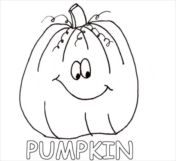 9 Pumpkin Coloring Pages Jpg Ai Illustrator Download Free Premium Templates