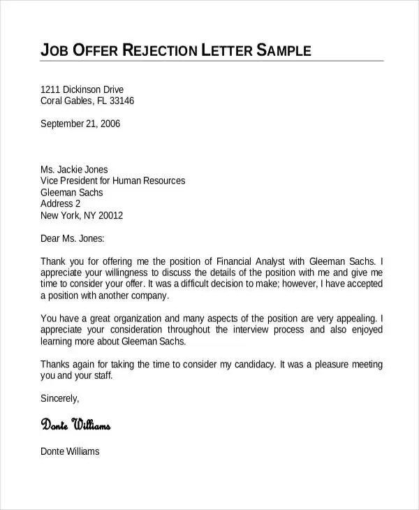 Employment Offer Letter Template 6 Free Word Pdf Format Download Free Premium Templates