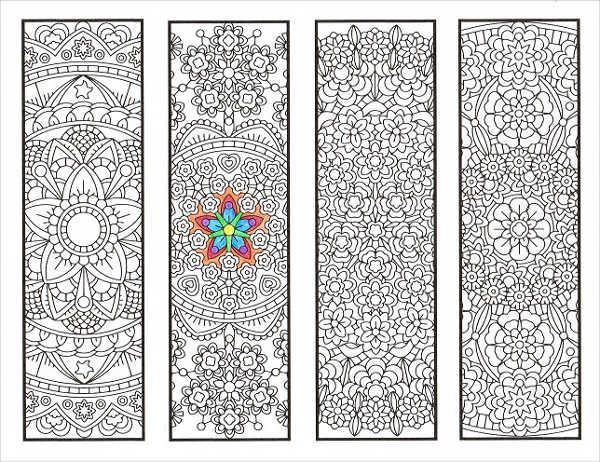 8 Flower Bookmark Templates 9 Free PSD AI Vector EPS