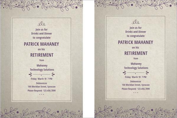 13 Retirement Party Invitations PSD AI Free Amp Premium Templates