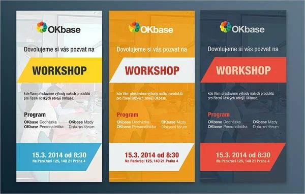 6 Workshop Invitation Templates Free Amp Premium Design