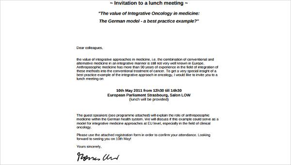 sample birthday invitation letter in