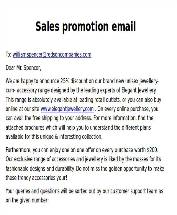 9 Promotional Email Templates Free Psd Eps Ai Format