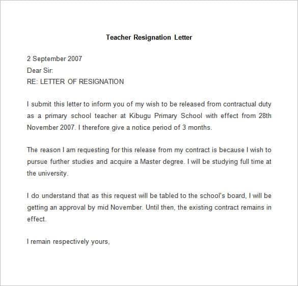 Leaving Letter To Boss - Letter