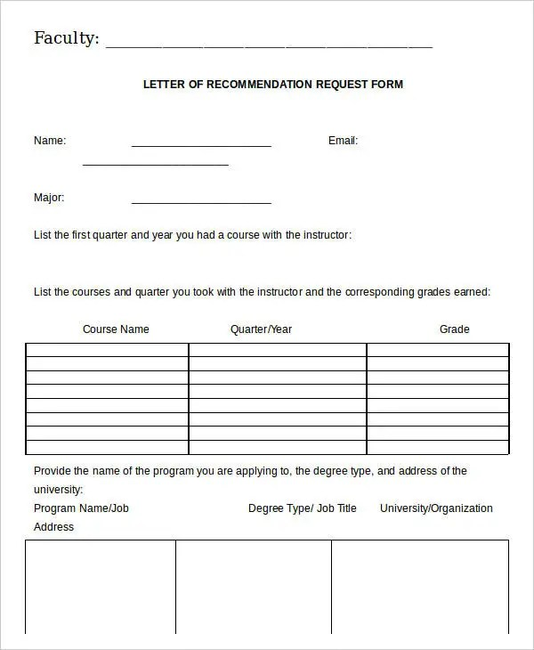 28 Recommendation Letter Templates In Doc Free Premium Templates