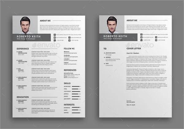 50 Modern Resume Templates Pdf Doc Psd Free Premium