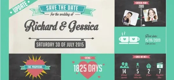 Save The Date Wedding Ecard From Www Katiescards Com