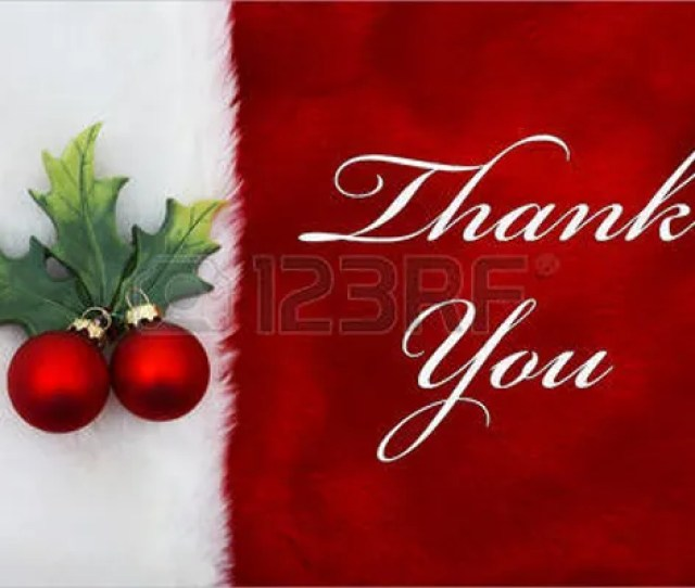 Merry Christmas Thank You Card