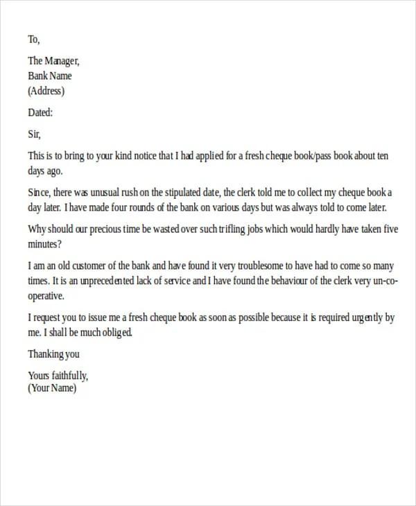 34 Complaint Letter Templates Word Google Docs Apple Pages Free Amp Premium Templates