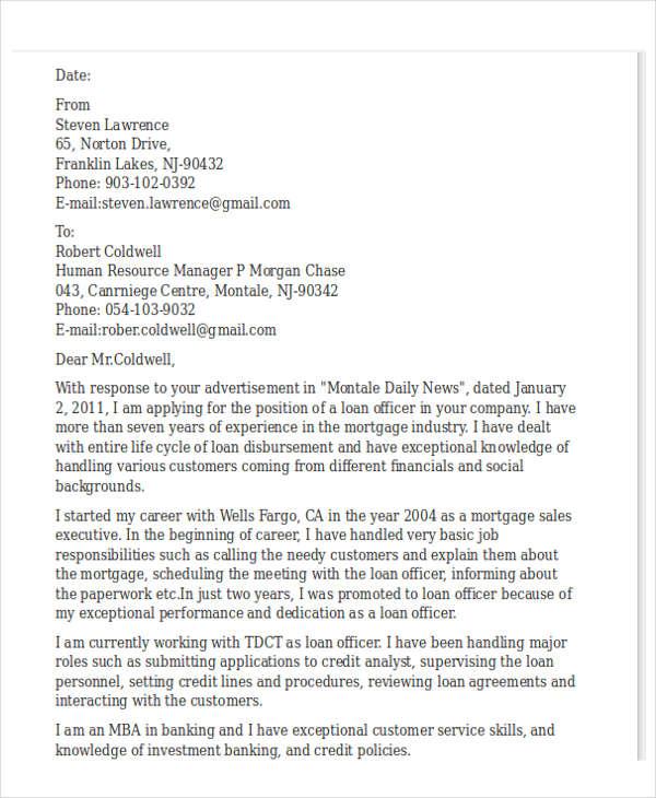 42 Formal Application Letter Template Free Amp Premium