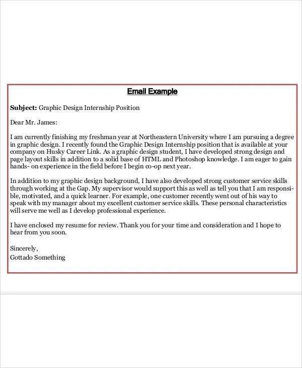 Applying Job Letter Application Sample