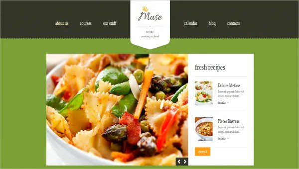 17 Food Recipes Website Themes Templates Free Premium
