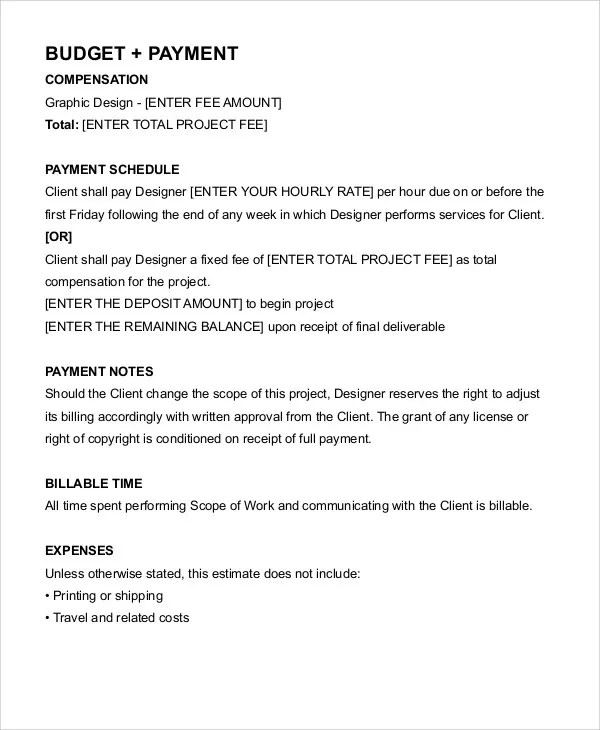 Freelance Graphic Design Contract Template Pdf - FREE DOWNLOAD