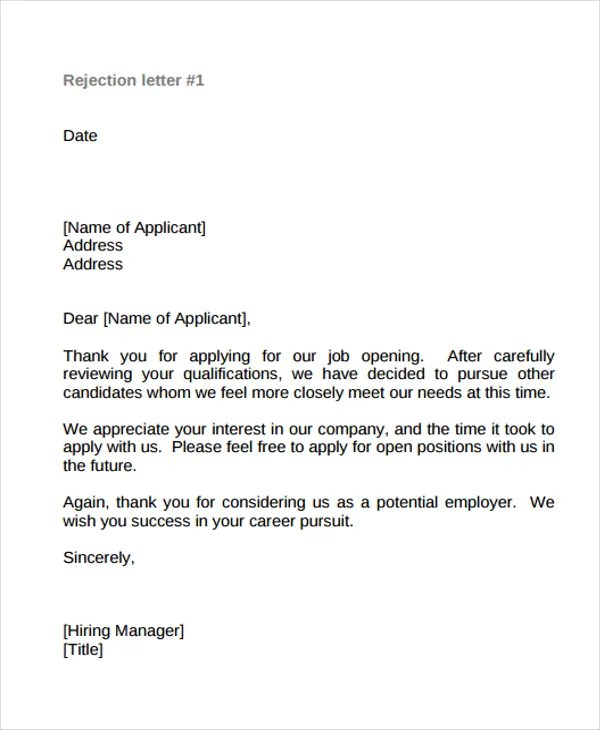 Thank You Letter To Hiring Manager After Job Offer Docoments