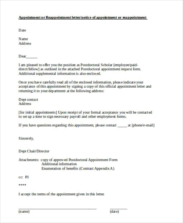 official letterhead examples