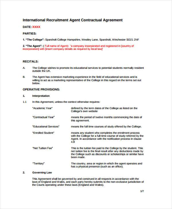 39 Agreement Templates In Pdf Free Premium Templates