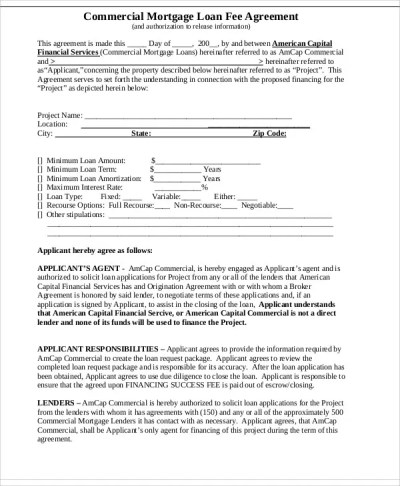 31+ Loan Agreement Templates - Word, PDF, Pages | Free ...