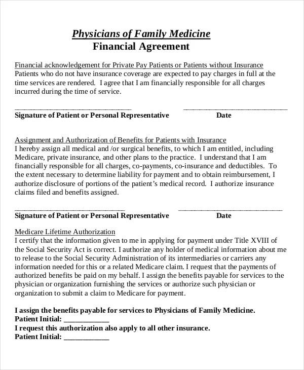 47 Basic Agreement Forms Word PDF Free Premium Templates