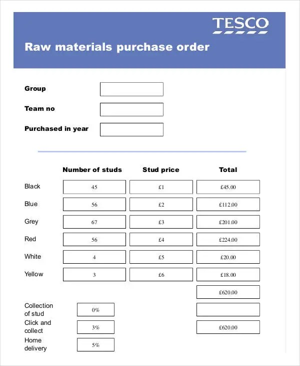 16 Purchase Order Formats Free Amp Premium Templates