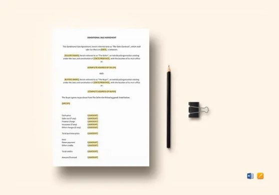 43  Basic Agreement Forms   Free   Premium Templates Sale Agreement Template