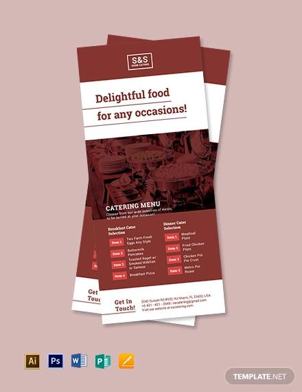 17 Restaurant Rack Card Designs Templates Word Psd Ai