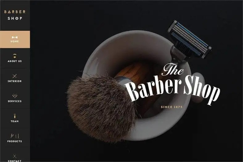 Barber Shop Website Templates Amp Themes Free Amp Premium Free Amp Premium Templates