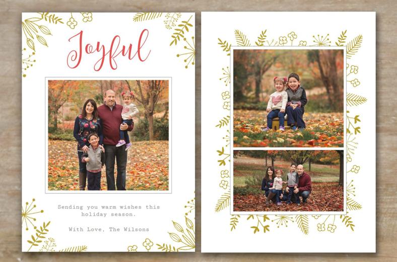 10 Christmas Card Designs Free Amp Premium Templates