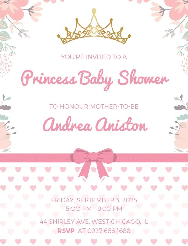 22 Best Baby Shower Invitation Templates Editable Psd Ai
