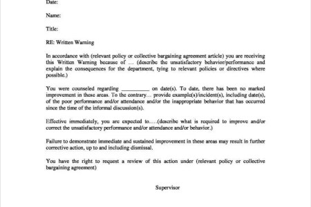 download warning letter format » Best Free Fillable Forms | Free ...