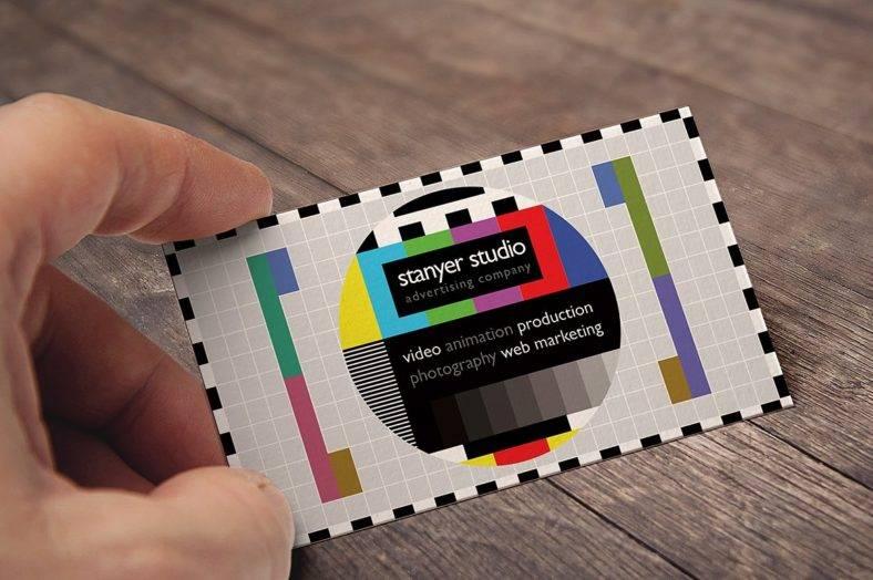 14 Producer Business Card Designs Amp Templates PSD AI InDesign PDF DOC Free Amp Premium