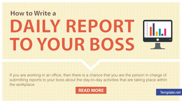 How to Write a Daily Report to Your Boss - 14+ Templates in Word